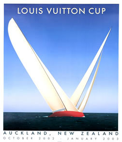 razzia posters vuitton cup